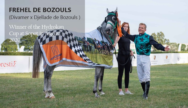 Frehel de Bozouls winner at Sopot